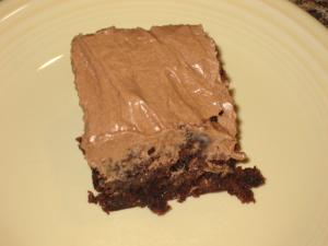 Brownies And Mocha Frosting