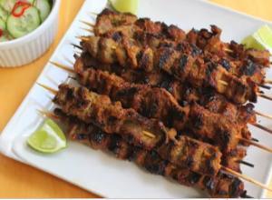 Thai Sirloin Tip Beef Satay