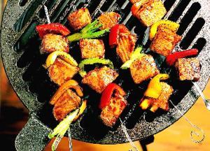 Jamaican Pork Kabobs