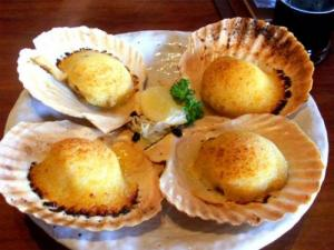 Baked Crab Meat In Shells