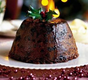 First Church Christmas Pudding