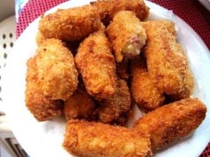 Deep Fried Lamb Croquettes