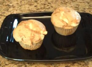 Cream Cheese Carrot Cake Muffin