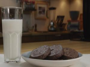 Double Chocolate Icebox Cookies