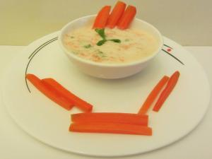 Carrot and Cheese Dip