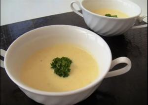 Creamy Satsumaimo Soup