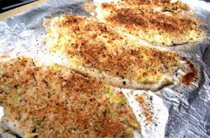 Broiled Flounder Fromage