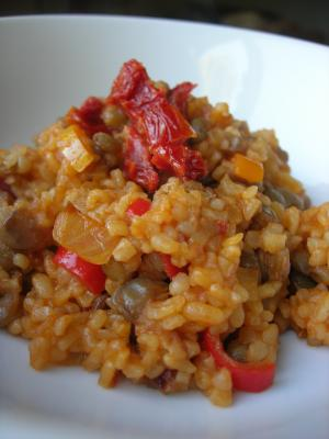 Bulgur Pilaf with Green Lentils