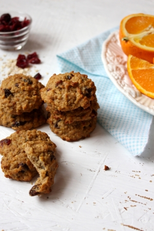 Orange Oatmeal Cookies