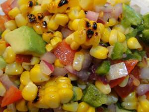GardenPalooza Corn Salsa