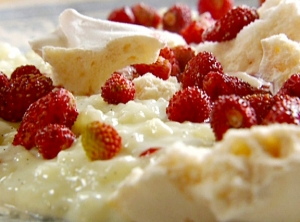 Rice Pudding With Fresh Fruit