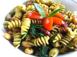 Tuscan Beans and Pasta