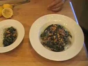 Healthy Spinach Stew with Flavorful Jasmine Rice