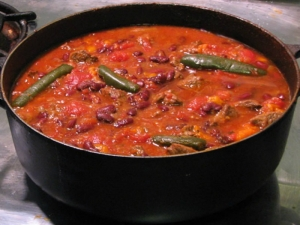 An Amazing BBQ Chili