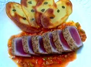 Provencal-Style Tuna Tataki