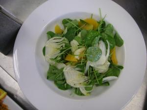 Orange-Fennel Salad w/Citrus Vinaigrette
