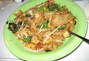 Egg Fried Noodles With Vegetable Tofu