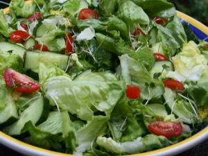 Fresh Summer Garden Salad