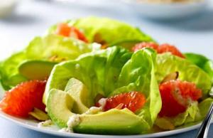 Pink-Grapefruit-and-Avocado Salad Platter