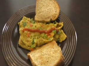 Masala Omelette / Indian Egg