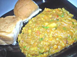Pav Bhaaji At Home