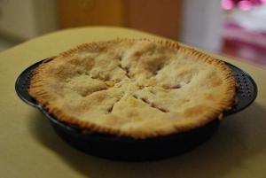 Individual Deep-Dish Apple Pie