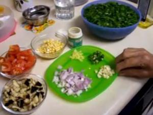 Sindhi Sai Bhaji Ingredients Part 1