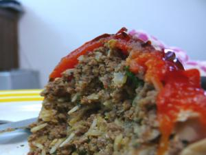 Meat And Rice  Stuffing