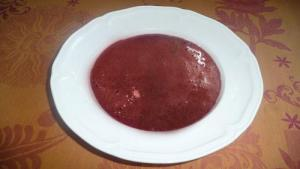 Cherry Wine Soup