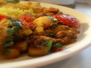 Spiced Bombay Potatoes