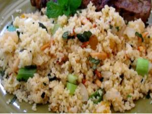 Couscous with Apricots and Toasted Almonds
