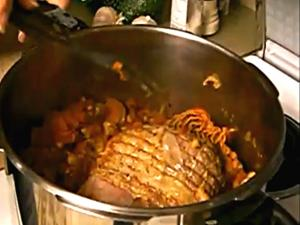 Dr. Bob DeMaria Lamb Roast Pressure Cooked Finished