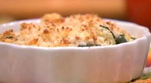 Summer Vegetable Gratin with Panko Bread Crumbs