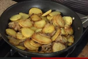 Lyonnaise style Browned Potatoes