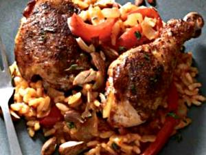 Sofrito Baked Chicken