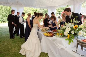 Wedding buffets are better