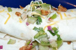 Brians Breakfast Burrito