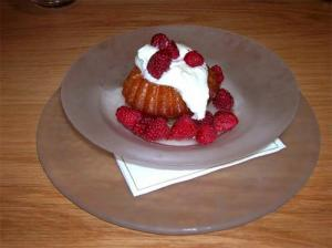 Strawberry Savarin