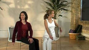 Twist In A Chair Yoga Practices