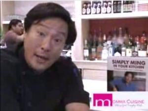 Celebrity Chef Ming Tsai sits down with Momma Cuisine