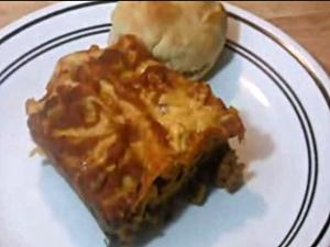 Spinach Lasagna(e) with Homemade Ragu