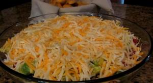 Layered Mexican Bean Dip