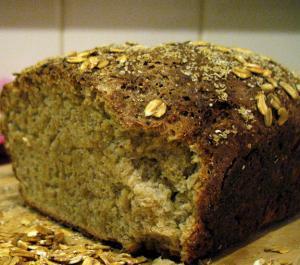 Oatmeal Soy Bread