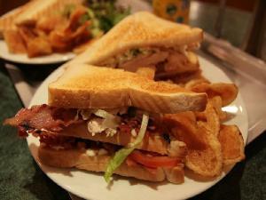 Betty's Grilled Club Sandwich