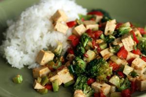 Tofu main dish