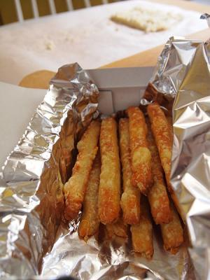 Onion-Cheese Sticks