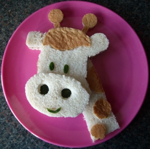 Food art for kids: For a balanced diet!