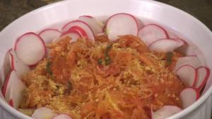 Baked Spaghetti Squash with Marinara Sauce