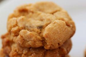 Raised Peanut Cookies