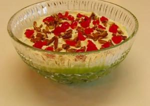 Zippy Lime Mist Gelatin Salad